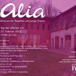 Alia Plakat Eroeffnung 2015