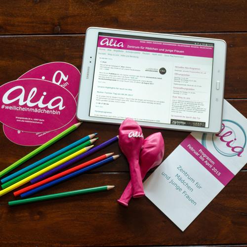 Design Neueröffnung | Alia