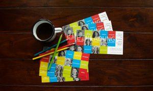 Postkarte und Einladung: 25 Jahre FRIEDA © Beyond Imagination