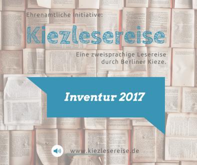Kiezlesereise Inventur 2017