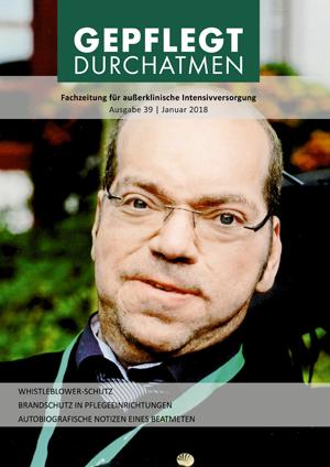 "Cover ""Gepflegt Durchatmen"", Ausgabe 39, Januar 2018"