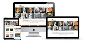 Website der GDNÄ auf verschiedenen Devices